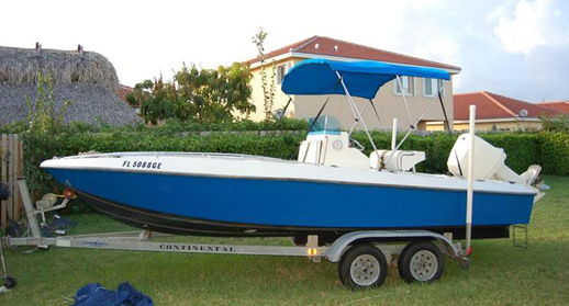 Paramount powerboats inc boat covers for Paramount fishing boat