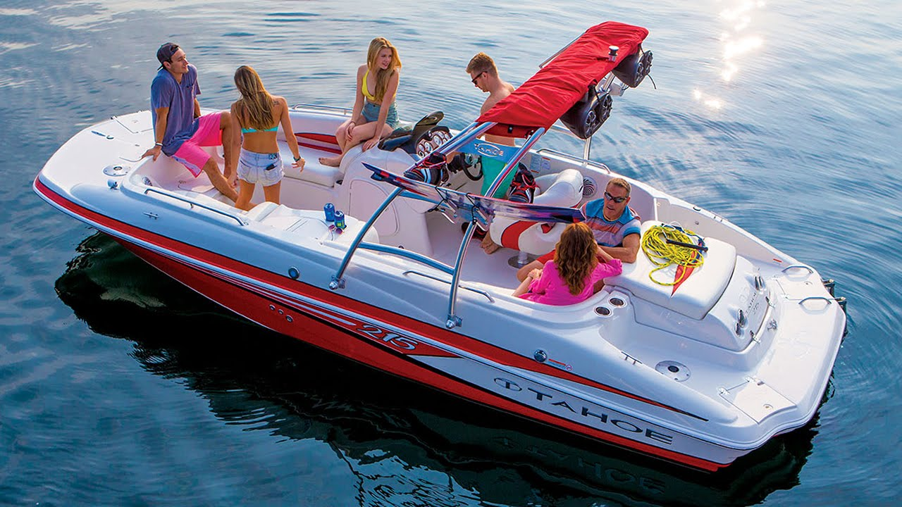 Eevelle Tahoe 215 Deck Boat with Ski Tower