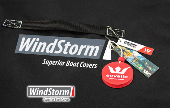 WindStorm™ boat covers are built with waterproof and breathable material
