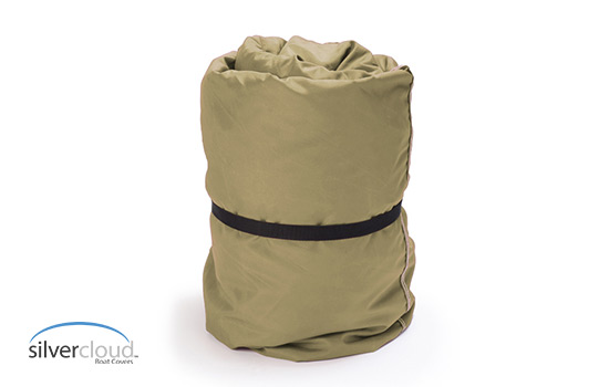 Free Storage Bag included with your SilverCloud boat cover.
