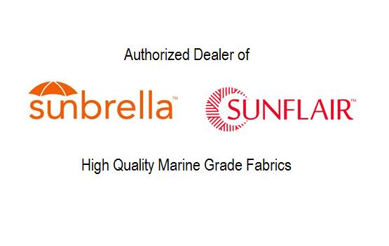 Authorized Sunbrella and Sunflair dealer.