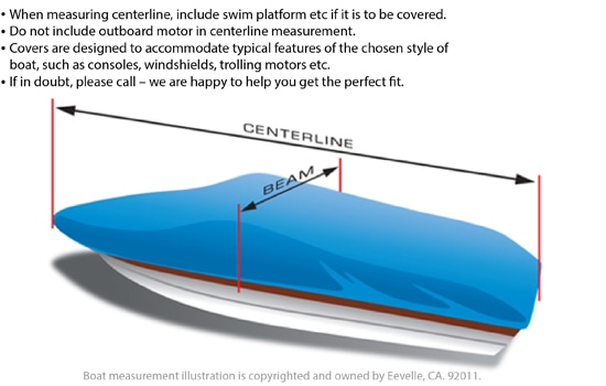 Boat Cover Measurement Guide