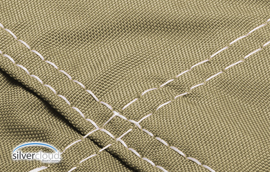 Double stitched with marine grade mildew resistant thread