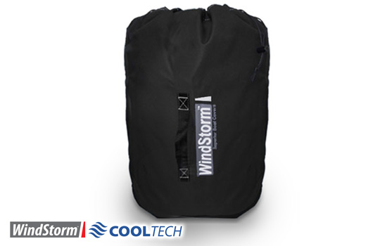 Included with your Windstorm CoolTech boat cover is a free storage bag