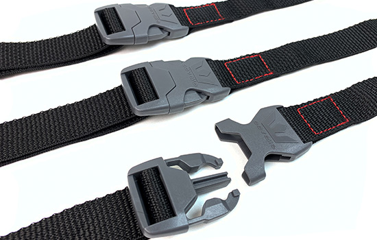 Included is a heavy-duty buckle system so your boat cover is always secure and trailerable