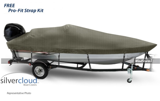 Silvercloud Aluminum V Hull Fishing Boat Covers