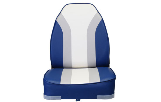 Wake Replacement High Back Boat Seat