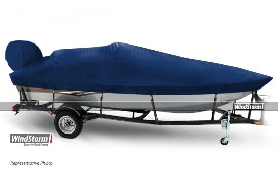 Windstorm Aluminum V Hull Fishing Boat Covers