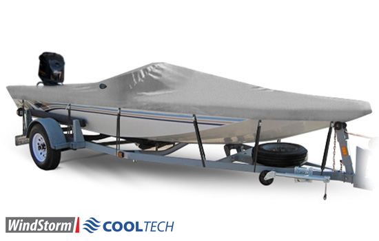 Windstorm Cooltech Center Console Boat Covers