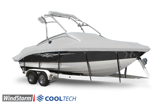 Windstorm Cooltech Tower Boat Covers