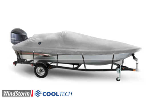 Windstorm Cooltech Aluminum V Hull Fishing Boat Covers