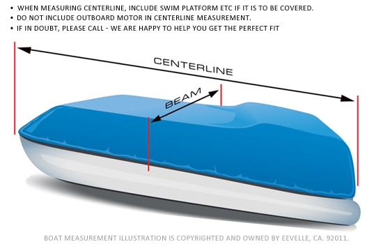 Pontoon Boat Cover Measurement Guide
