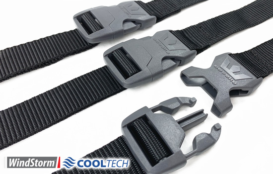 (12) XT Pro marine grade straps included