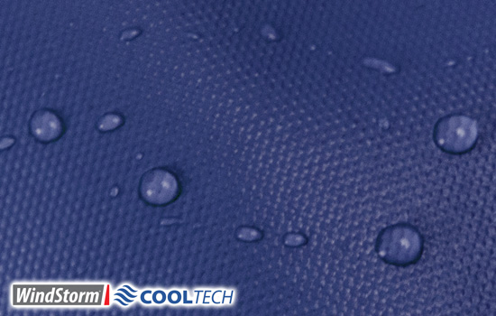 Windstorm CoolTech is 100% Waterproof