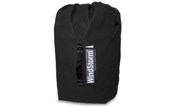 Windstorm Elite boat cover storage bag