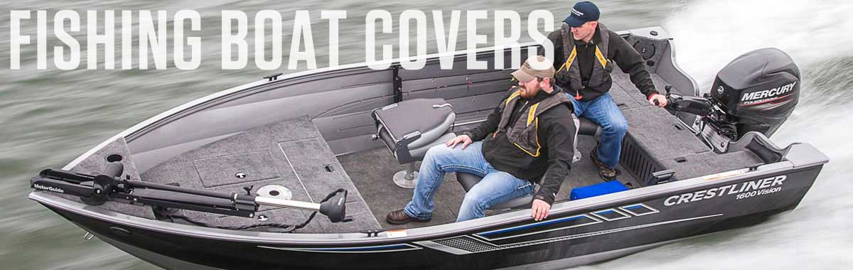 Aluminum Fishing Boat Covers | National Boat Covers