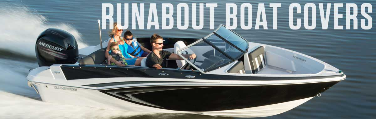 V Hull Runabout Boat Covers | National Boat Covers