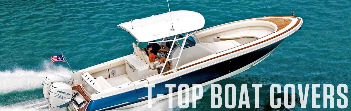 T-Top Boat Covers | National Boat Covers