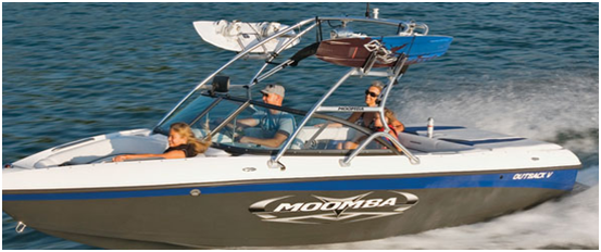 Ski Tower Boat Moomba