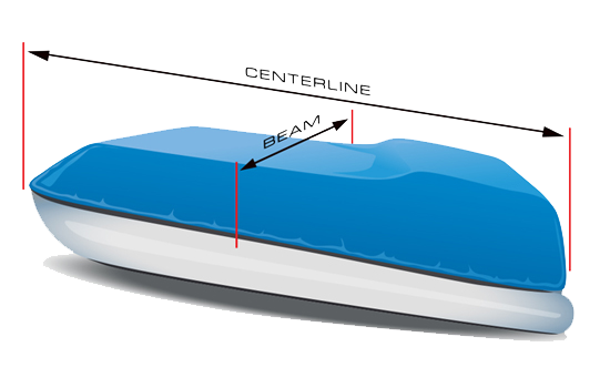 Eevelle National Boat Covers How to Measure Pontoon
