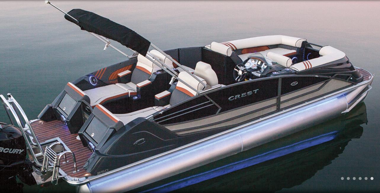 Crest Pontoons Boat Covers