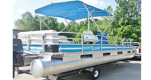 pontoon riviera cruiser Vintage