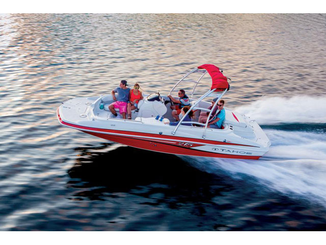 Eevelle Tahoe Deck Boat with Ski Tower