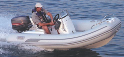 Eevelle Inflatable Boat with Center Console