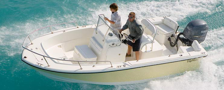 Eevelle EdgeWater V Hull Fishing with Center Console