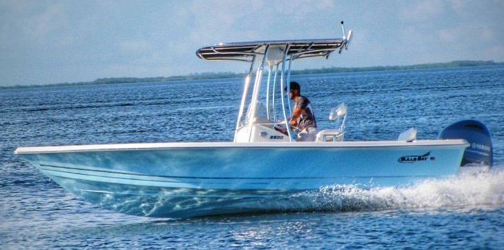 Eevelle BalaBay Bay Boat with T Top Cover